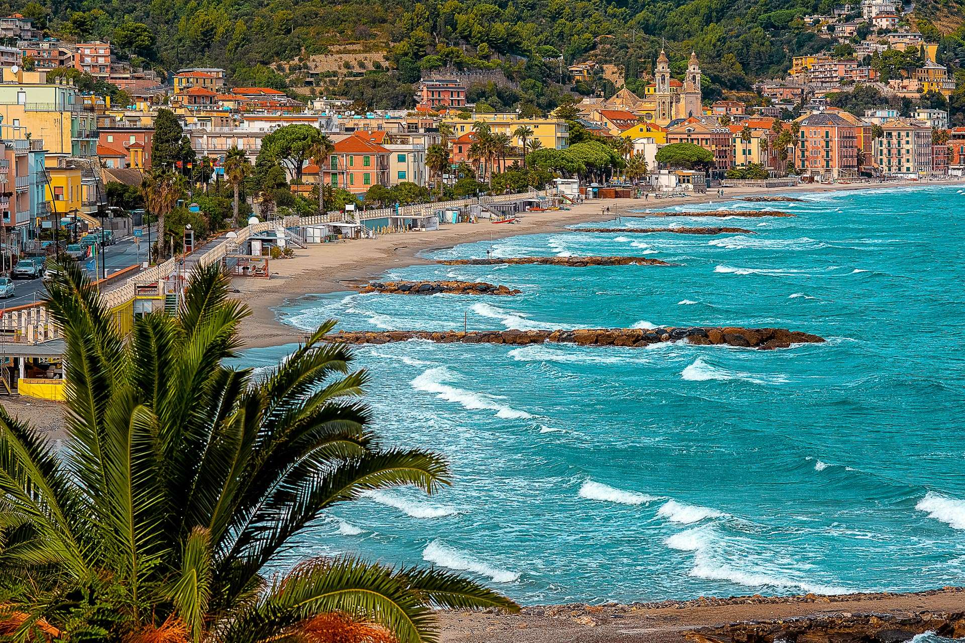In Alassio with your four-legged friend